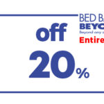 BED BATH & BEYOND 20% OFF ENTIRE PURCHASE COUPON
