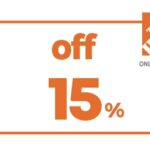 15% OFF HD HOME DEPOT ONLINE COUPON