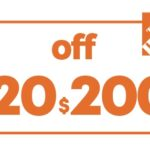 $20 OFF $200 HD HOME DEPOT PRINTABLE INSTORE COUPON