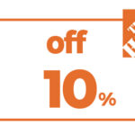 10% OFF HD HOME DEPOT PRINTABLE INSTORE COUPON