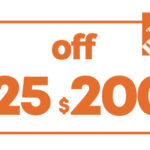 $25 OFF $200 HD HOME DEPOT PRINTABLE INSTORE COUPON