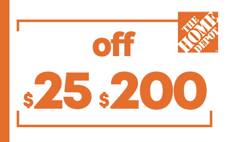 $25 OFF $200 HOME DEPOT PRINTABLE INSTORE COUPONS